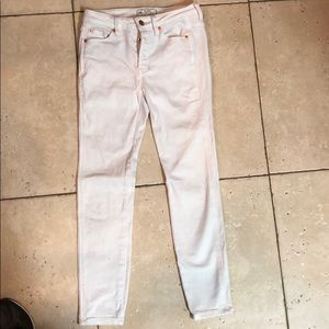 White free people jeans size 24